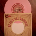 Vinyl...and it's feckin' PINK!! *jazz hands*