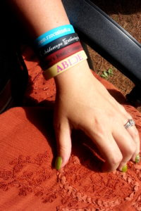 """All my registration """"bling"""". I even put this photo up with my scar. Because, I can. Progress..."""