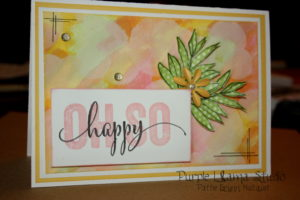 Brushed Scrapbooking Workshops on the Go package with stamp