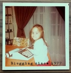 Blogging since 1977....maybe?