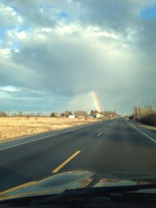 When a friend thinks of you while looking at a rainbow...the soul soars.