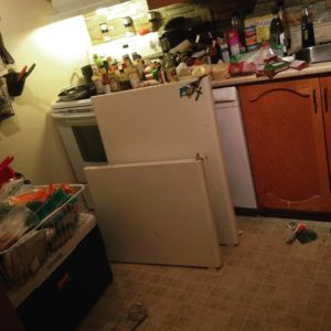 Never, EVER, a good time to break down, fridge...