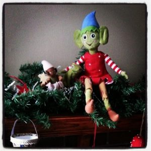 Alfont would kick Elf on a Shelf to the curb...true story
